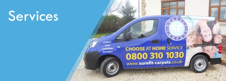 Surefit Carpets flooring services
